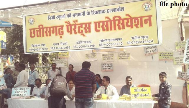 Chhattisgarh Parent's Association, Education Director S. Light, Removal, demand, Christopher Paul,