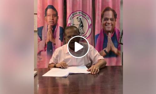 अमित जोगी ने जारी किया विडियो, RSS से जुड़े 7 अधिकारियों को बर्खास्त करने की मांग