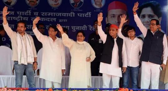 UP, SP-BSP-RLD, alliance, Masood Ahmad, Assembly bye-elections,