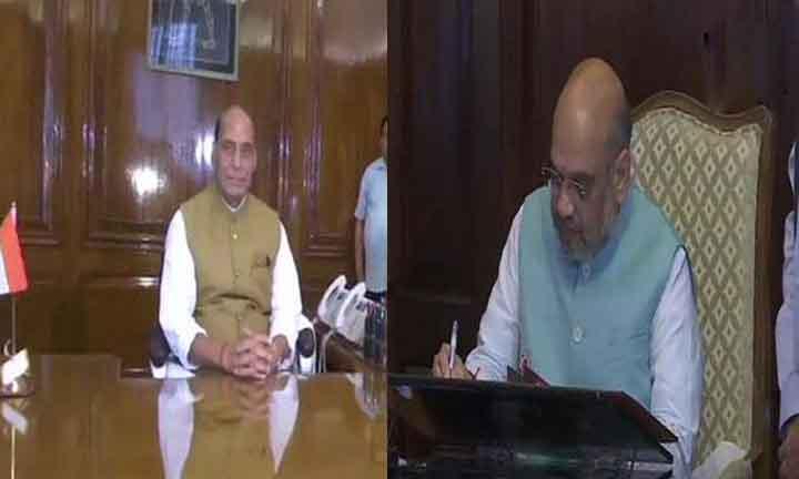 Narendra Modi, Cabinet, Amit Shah, Rajnath Singh, Handled charge,