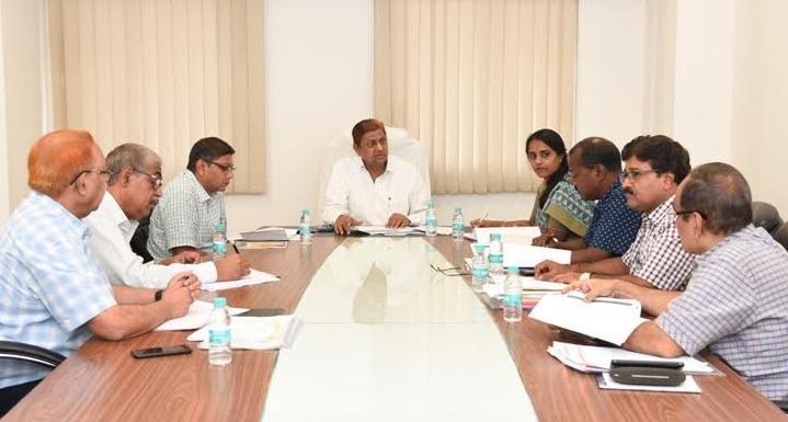 Housing Minister of Environment, Mohammad Akbar, Mahanadi Bhawan, Atal Nagar, development Authority,