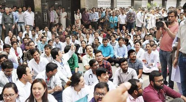 West Bengal, Against the blows Protest movement, the doctors, CM Mamta Banerjee, Six conditions,