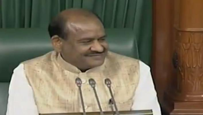 MP, Om Birla, In the chair of the Lok Sabha, Uncontested, Selected,
