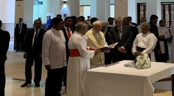 Sri Lanka, PM Modi,  tribute, Terrorism, Message of peace,