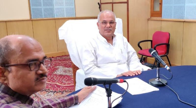 सीएम भूपेश बघेल ने देश के बजट को शुतुरमुर्ग प्रवृति का बताया