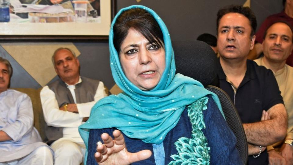 PDP President, Mehbooba Mufti, Article 370, Statement,