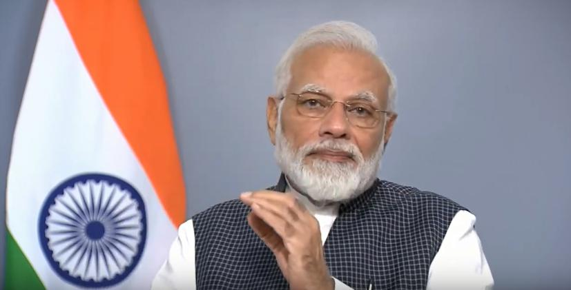 From Jammu and Kashmir, Article 370, After deletion, Prime minister, Narendra Modi, Addressing the country,