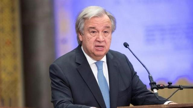 Negotiations, India and Pakistan, resolve Kashmir issue, UN chief,