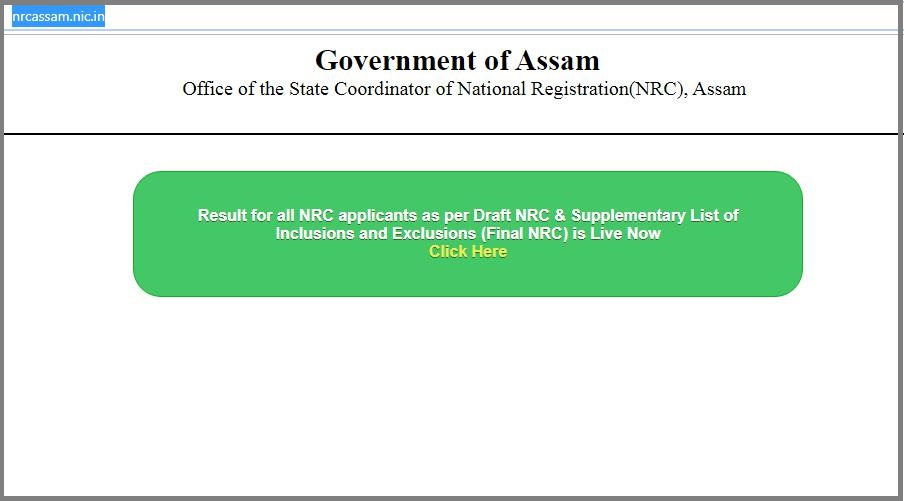 Assam, NRC, Online, List, released,