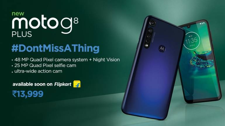 Moto G8 Plus, smartphone, launch,