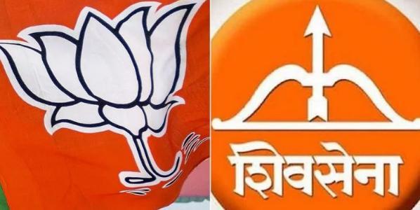महाराष्ट्र में भाजपा+शिव सेना गठबंधन की जीत
