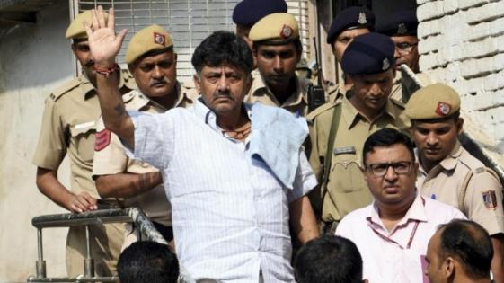 Former minister, DK Shivkumar, gets bail,