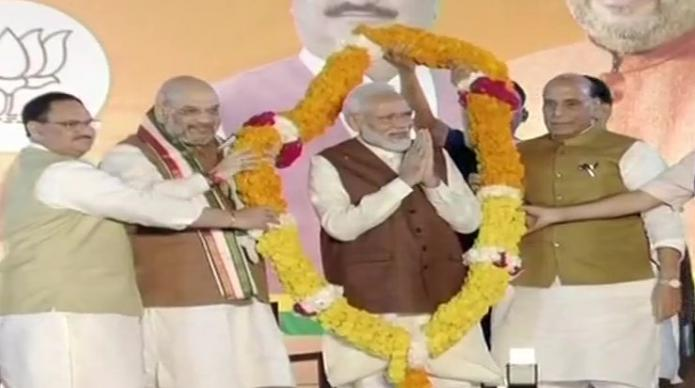 Haryana and Maharashtra elections, PM Modi, Addressed to workers,