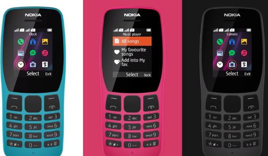 Nokia 110, feature phone, launched in India,