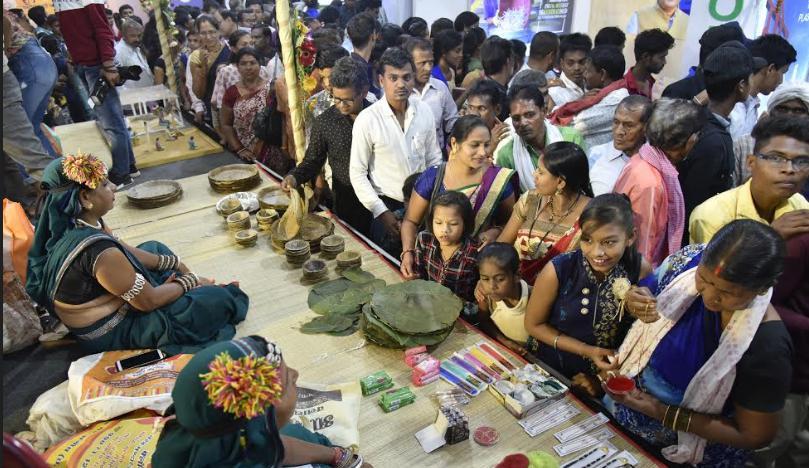 Chhattisgarh Rajyotsava 2019, Puni-Pasari, Market,