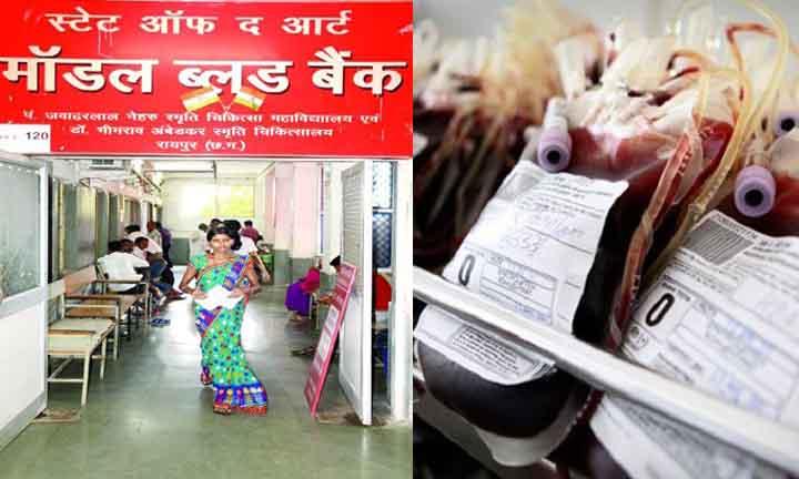 Chhattisgarh, In each district, Licensed blood bank, Established,