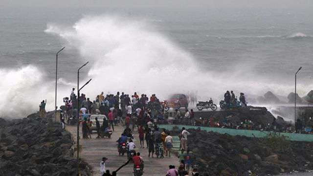 In the Bay of Bengal, Due to low pressure, Born, Nightingale, Storm,