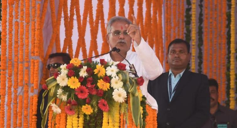 Chief Minister, Bhupesh Baghel said, Will buy paddy for Rs 2500,