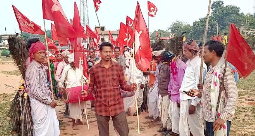 Against RCEP, Chhattisgarh, Demonstration,