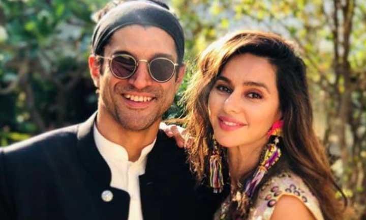 Actor, Farhan Akhtar, Shibani Dandekar, Marriage,