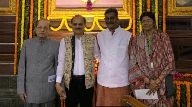 Dr. Charandas Mahant, Parliament House Central Hall, Indira Gandhi, Tribute,