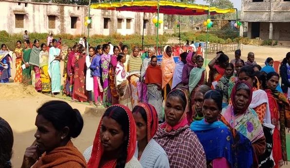 Jharkhand, first stage, 13 assembly seats, Voting,