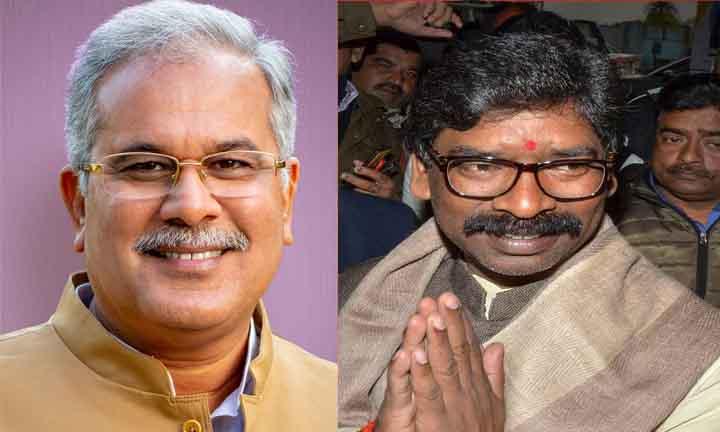 Jharkhand Mukti Morcha, JMm, Hemant Soren, Oath of chief minister, Bhupesh Baghel,