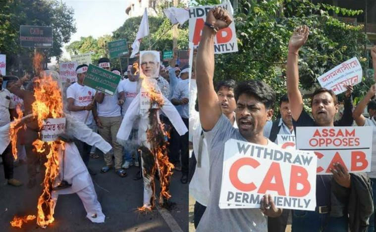 Cab-nrc, Against, Leftist parties, Nationwide call on 19th,