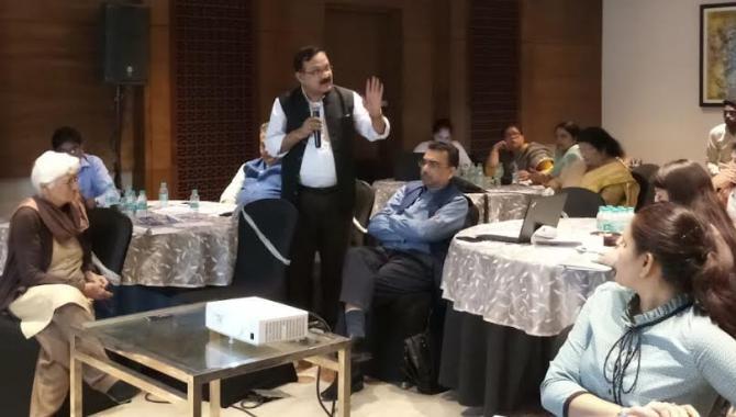 National level meeting, in Raipur, regarding FCTC,