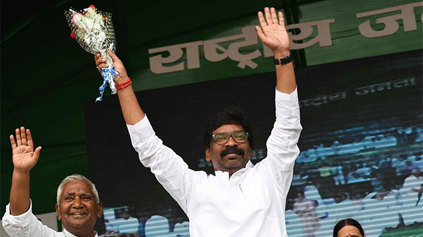 Jharkhand, Hemant Soren, 27 December, Oath of chief minister,