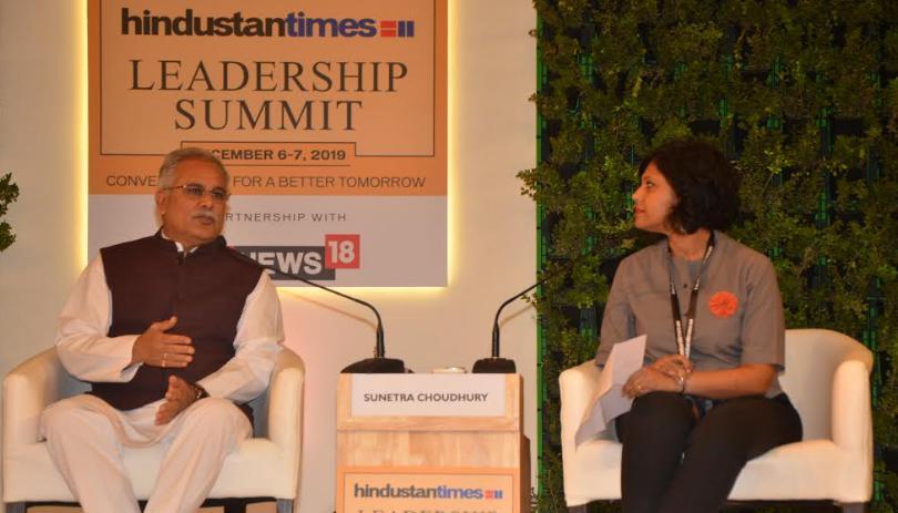 new Delhi, Held, Leadership summit, Bhupesh Baghel,