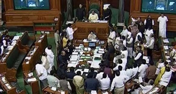 Parliament, Hyderabad incident, Ruckus,