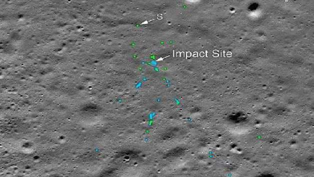 NASA, released photos, Vikram Lander's wreckage,