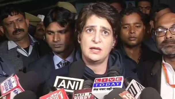 Uttar Pradesh, Against women, Crime, Priyanka Gandhi, BJP government, Surround,