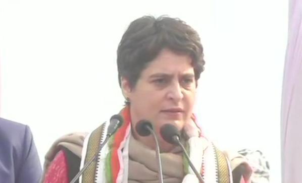 Congress, General Secretary, Priyanka Gandhi, People are being scared in the name of patriotism,