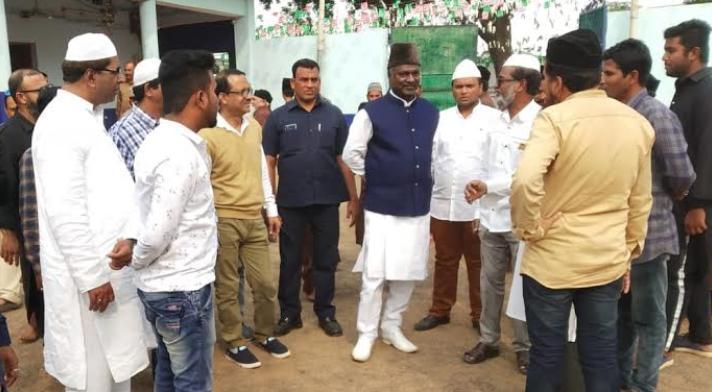 Chhattisgarh State Waqf Board, Chairman Salam Rizvi, Rajnandgaon,