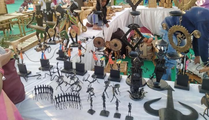 Bamboo crafts, Dokara art, Bastar art, Clay crafts,