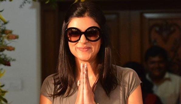 Actress Sushmita Sen, Bollywood entry,