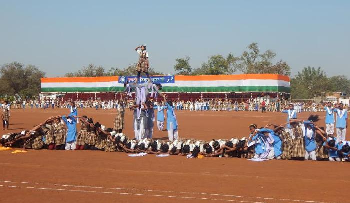 Republic Day Celebration, 26 January, Police Parade Ground, Raipur,