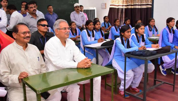 special note, Nationally, In assessing students, Chhattisgarh became a role model,