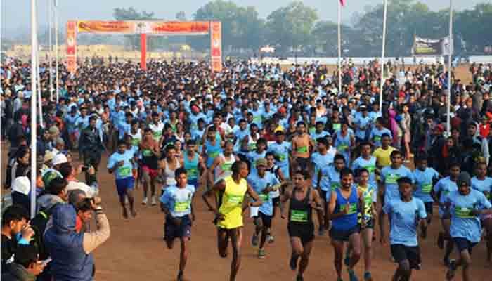 Narayanpur, Bhilai Steel Plant, 8 February, Run for abuzhmad - run for peace, Marathon 2020,