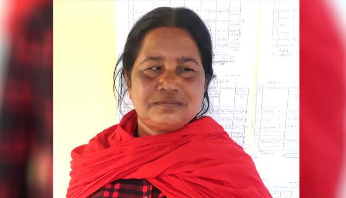 Mahasamund District, Blind woman, Sarita Kondh, Sarpanch post, Nomination filing,