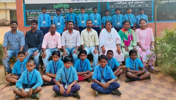Chhattisgarh, Nanhe parinde sanstha, 17 children selected, military school,