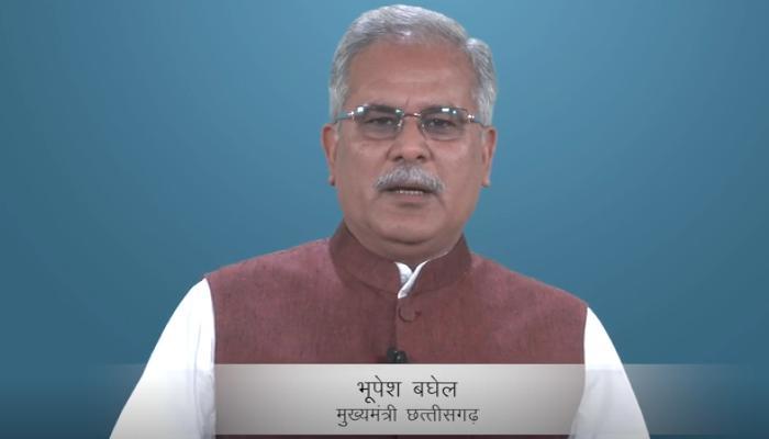 Corona virus, Chief Minister Bhupesh Baghe, Message to public, Chhattisgarh, Lock down,