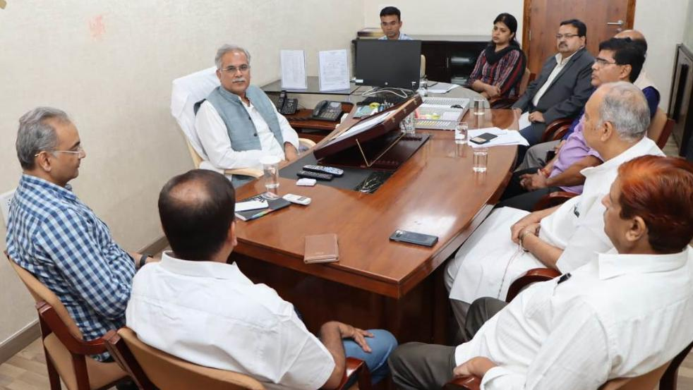 Chief Minister, Bhupesh Baghel, Emergency meeting, Korana virus, Detailed review of arrangements,