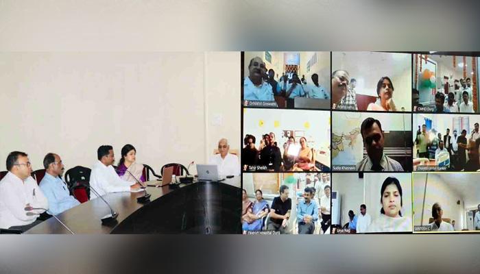 स्वास्थ्य मंत्री ने वीडियो कांफ्रेसिंग से 6 जिला अस्पतालों में किया निःशुल्क डायलिसिस सुविधा का शुभारंभ