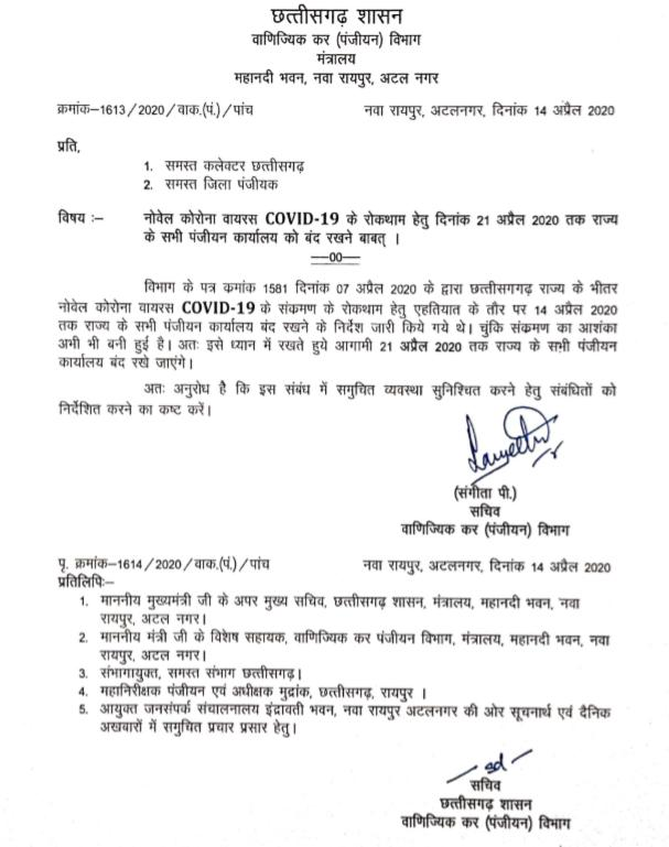 Government of Chhattisgarh, Corona virus, Wine shops closed,