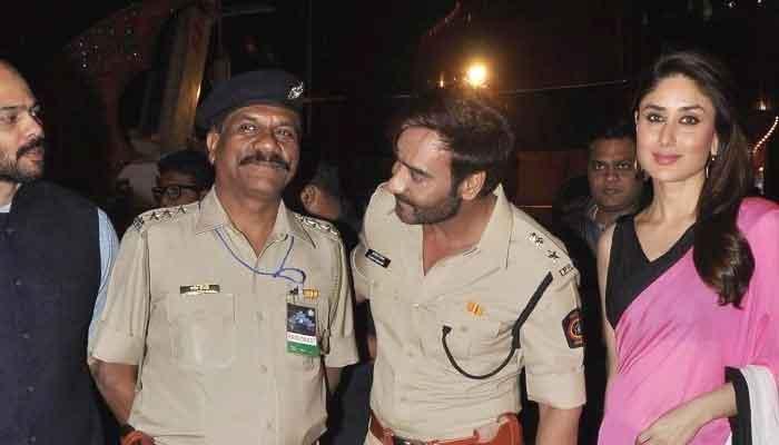 मुंबई पुलिस को करीना का 'सल्यूट'