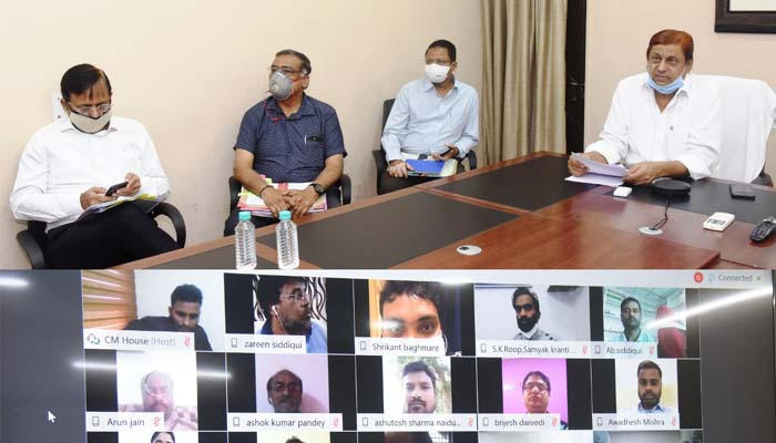 Forest Minister, Mohammad akbar, Video conference, Mahua Flower Storage, 30 rupees rate,