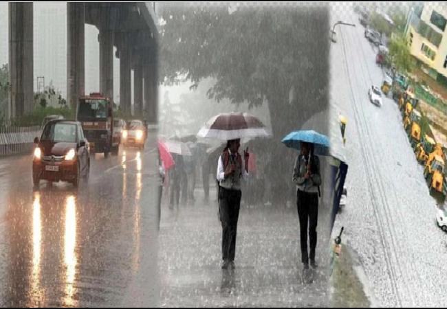 दिल्ली-एनसीआर में भारी बारिश का अनुमान, जानें बाकी राज्यों का हाल